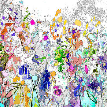 Colourful Meadow I by Tracy-Ann Marrison