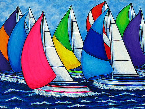 Colourful Regatta by Lisa  Lorenz