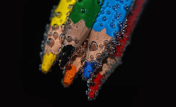 Colouring Pencil by Baptiste De Izarra