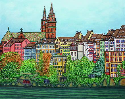 Basel, Colours of Basel by Lisa Lorenz