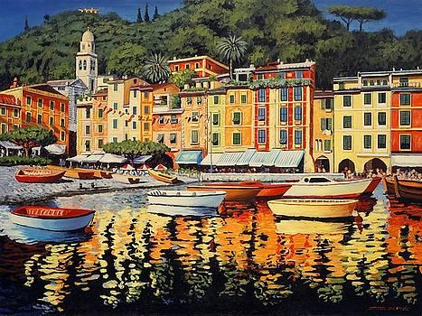 Colours of Portofino by Santo De Vita