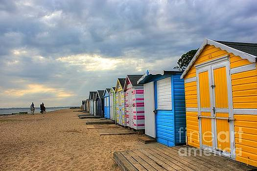 Colours on the Beach  by Vicki Spindler