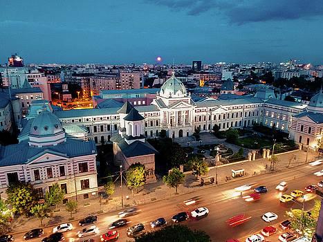 Coltea Hospital, Bucharest by Chris Thodd
