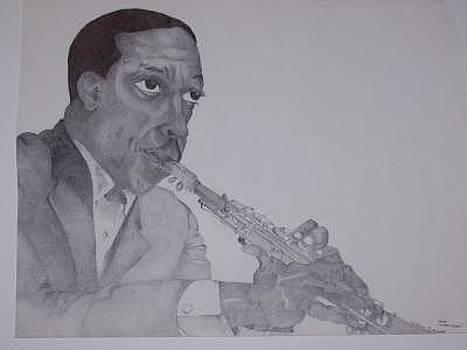 Coltrane by Glenn Isaac