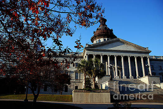 Susanne Van Hulst - Columbia Capitol Building in South Carolina