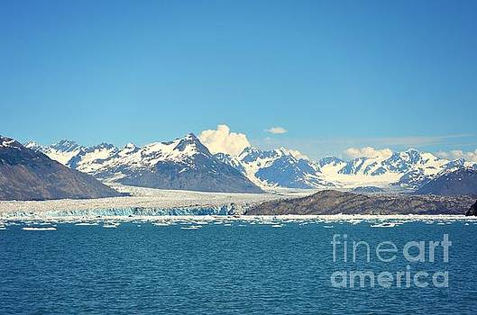 Columbia Glacier by Kiana Carr