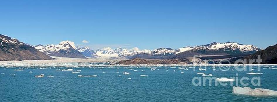 Columbia Glacier Landscape by Kiana Carr