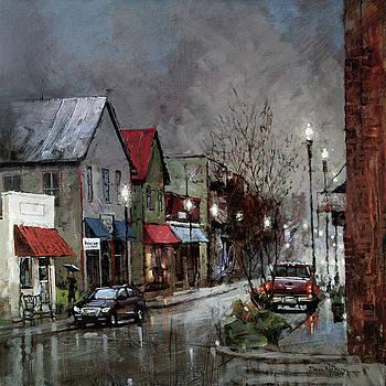 Columbia Rain by Dan Nelson