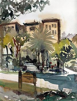 Columbus Park Bayshore Tampa by Gaston McKenzie