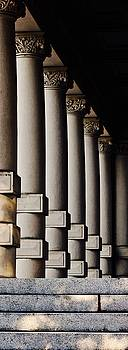 Columns Early Morning by Brian Sereda