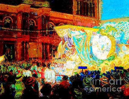 Come To The Mardi Gras In New Orleans 2017 by Michael Hoard