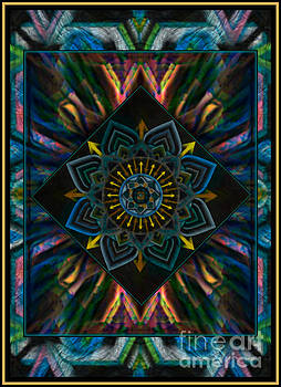 WBK - Come Together Peace Mandala