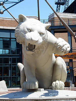 Comerica Park Detroit Tigers by Nola Hintzel