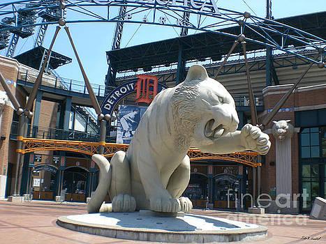 Comerica Park Tiger Stadium Detroit by Nola Hintzel