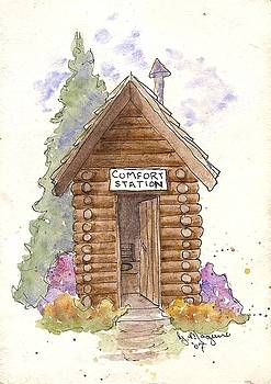 Comfort Station by Gail Maguire