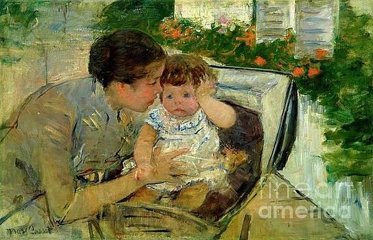 Cassatt - Comforting The Baby