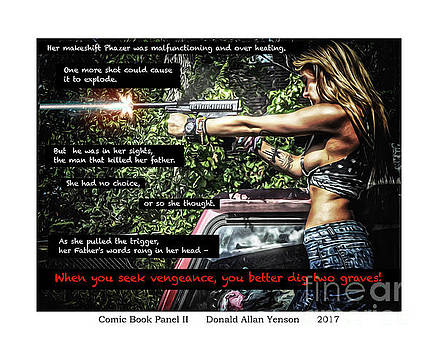 Comic Book Panel II by Donald Yenson