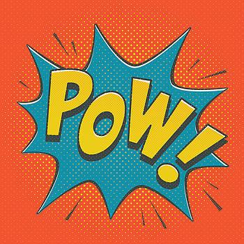 Comic Pow by Mitch Frey