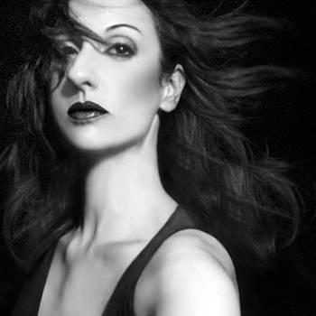Commanding the Chaos - Self Portrait by Jaeda DeWalt