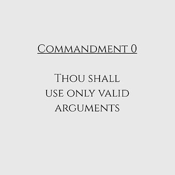 Commandment 0 by Piece of Infinity