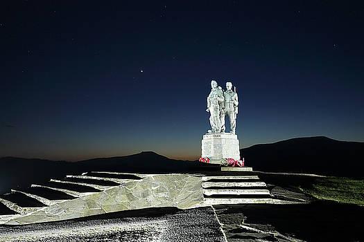 Commando Memorial by Grant Glendinning