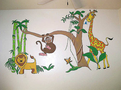 Kathleen Heese - commission Nursery Mural