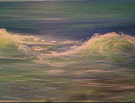 Commissioned seascape by Heather Roddy