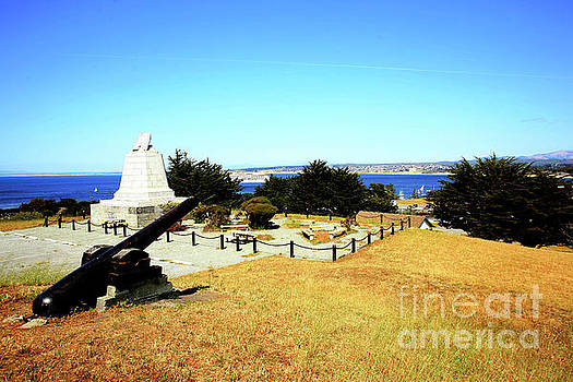 California Views Archives Mr Pat Hathaway Archives - Commodore Sloat Monument was constructed in 1910, Presidio of Monterey 2009