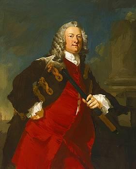 Wilson Richard - Commodore Thomas Smith 1744