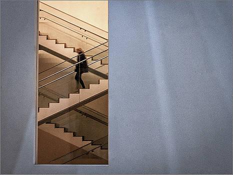 Kako Escalona - Stairs, Museum of Modern Art. New York