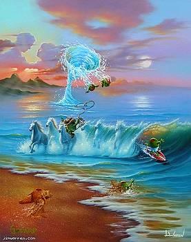 Commotion in the Ocean by Jim Warren