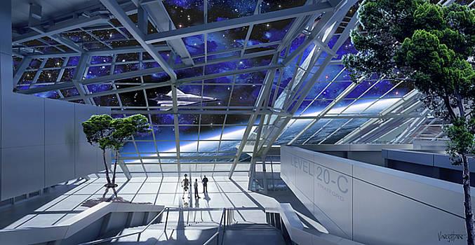 James Vaughan - Community In Space - Asgardia