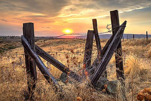Community Park Sunset by Brad Stinson