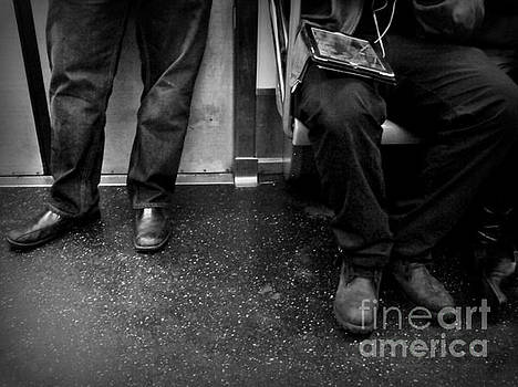 Commuters - Subways of New York by Miriam Danar