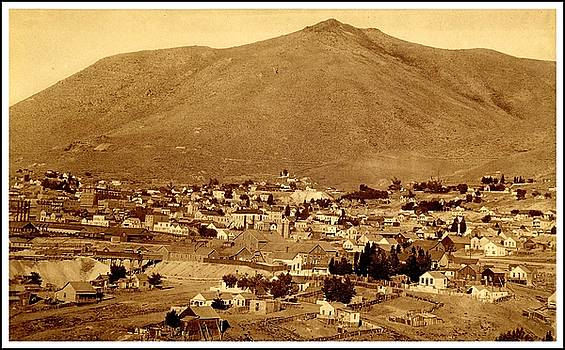 Comstock Lode Virginia City Nevada in the 1880s Greatest Precious Metal Find in History by Peter Gumaer Ogden