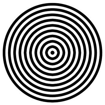 Concentric Circles by Paul Sober