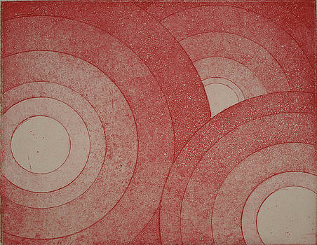 Erik Paul - Concentric Red