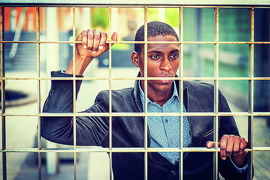 Alexander Image - Concept of Young African American Man Looking for Freedom in New