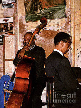 Concert in Preservation Hall, New Orleans, Louisiana by Merton Allen