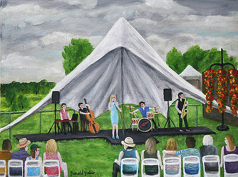 Concert In Tatton Park by Ronald Haber