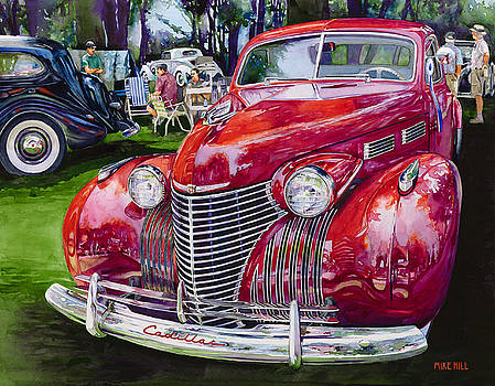 Concours' Cadillac by Mike Hill