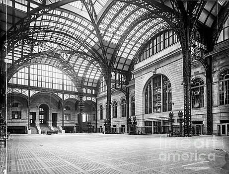 Russ Brown - Concourse Pennsylvania Station New York