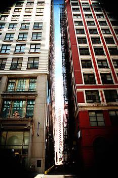 Concrete Canyon Chicago by Lon Casler Bixby