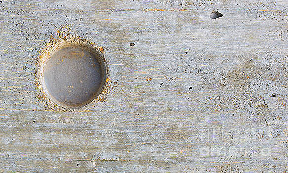 Concrete Wall Abstract with Hole by ELITE IMAGE photography By Chad McDermott