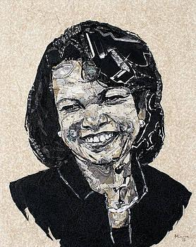 Condoleeza Rice- a portrait by Mihira Karra