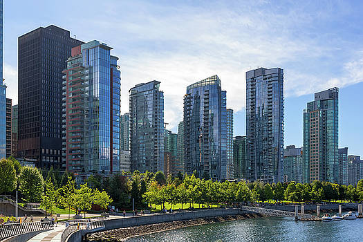 Condominium Waterfront Living in Vancouver BC by David Gn