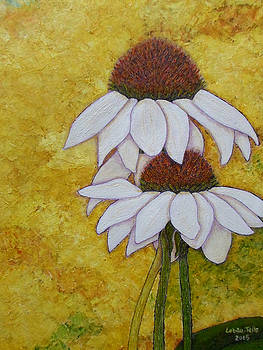 Madalena Lobao-Tello - Cone flowers memories