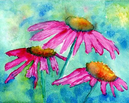 Coneflowers by Connie Morrison