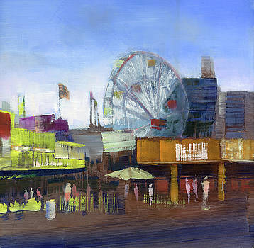 Coney Island Cafes by Gail Ingis Claus