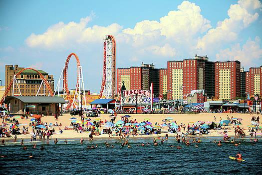 Coney Island by Elom Bowman